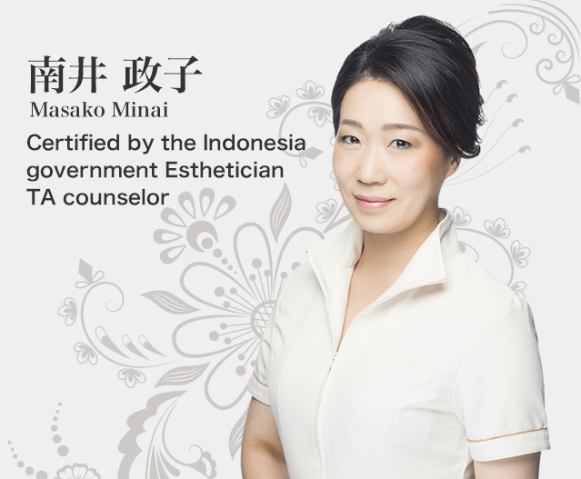 Certified by the Indonesia government Esthetician